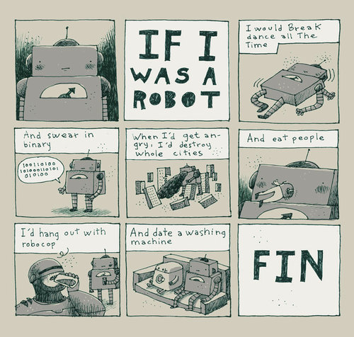 if i was a robot