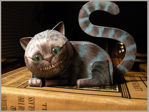 Cheshire Cat Paper Craft Upstate Fancy