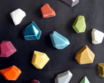 faceted magnets